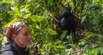 Kieke and Mountain Gorilla - Uganda